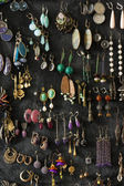 Collection of ear-rings — Stock Photo