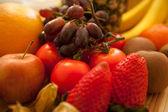 Tasty food collection close — Stockfoto