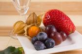 Healthy breakfast dessert — Stock Photo