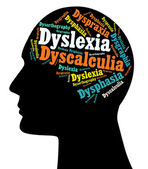 Dyslexia, Learning Disabilities — Stock Photo