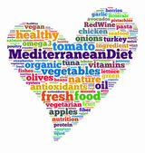 Mediterranean diet — Stock Photo