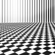Stock Photo: Checkers background