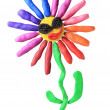 Plasticine disco flower — Stock Photo #41279823