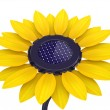 3d solar cell sunflower — Stock Photo #41282959