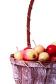 A busket with apples — Stock Photo