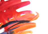 Watercolor smears — Stock Photo