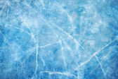 Ice blue  frozen rink winter — Stock Photo