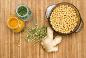 Ayurvedic cooking food — Stock Photo