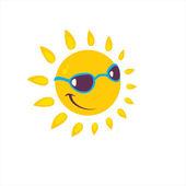Cartoon sun — Stock Vector