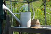 Jardinier de l'équipement — Photo