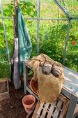 Garden greenhouse — Stock Photo