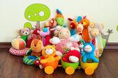 Brinquedos macios — Foto Stock