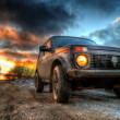 SUV NIVA LADA — Stock Photo