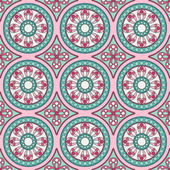 Geometric seamless ornament pattern — Stock Vector