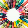 Stock Photo: Crayons in circle