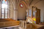 Orgeln i kyrkan — Stockfoto