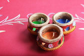 Decorative indian decorative pot — Foto Stock