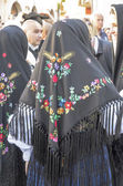 Sardinian traditional costumes — Stock Photo