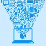 návrh technologie — Stock vektor