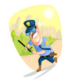 Security Guard — Vector de stock