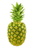 Fresh whole pineapple isolated on white — Stock Photo
