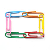 Clipe de papel — Fotografia Stock
