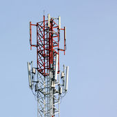Telecommunications tower — Foto de Stock