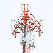 Torre de telecomunicações — Fotografia Stock