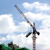 Working crane — Stock fotografie