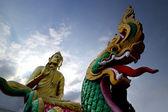 Obraz buddhy — Stock fotografie