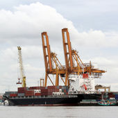 Navire de charge conteneur — Photo