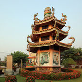 Pavilion in chinese style — Stockfoto