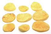 картофельные чипсы — Стоковое фото
