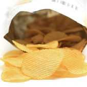 Potato chip — Stockfoto