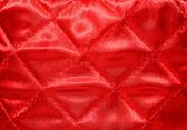 Vysoký detail pozadí a červenou látkou textury — Stock fotografie