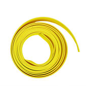 Yellow hose winder isolated on white background — Stock Photo