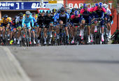 Mallorca Cycling Challenge 2014, second stage. — Stock Photo