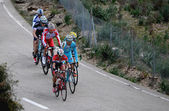 Mallorca Cycling Challenge 2014, third stage in the Serra de Tra — Stock Photo