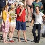 ������, ������: The actor Pierce Brosnan