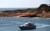 The Fortuna yatch owned formerly of King Juan Carlos I of Spain. — ストック写真