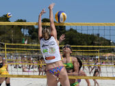 Beach Volleyball Around the World Tournament — Stock Photo