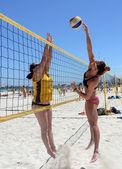 Beach Volleyball Around the World Tournament — Foto Stock