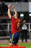 Spanish Soccer Team — Stockfoto
