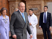 The King of Spain Juan Carlos I — Stock Photo
