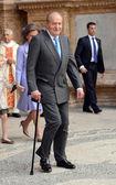 The King of Spain Juan Carlos I — Stock Photo
