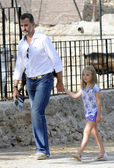 Prince Felipe, son of King Juan Carlos I of Spain — Stock Photo