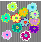 Flower pattern background — Stock Vector