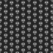 Skull pattern — Stock Vector