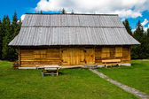 Modest hut — Stockfoto