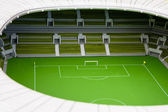 Disign footbal stadium — Stock Photo